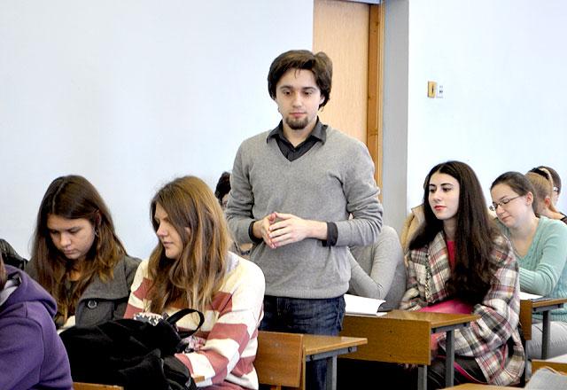 Отчет о собрании по переводческой практике студентов романо  Илья Гольтяков речь победителя