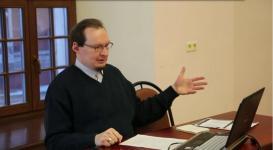 Кадр из видео лекции В.А.Ковпика